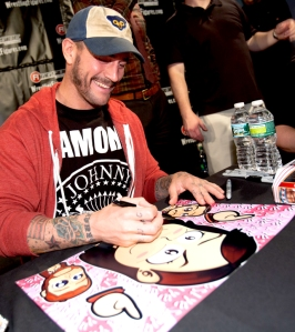 CM Punk Surprise Chibi Photo