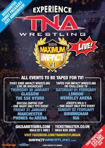 TNA UK PPV Poster